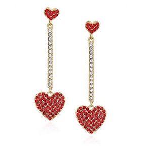 Kate Spade Yours Truly Heart Earrings